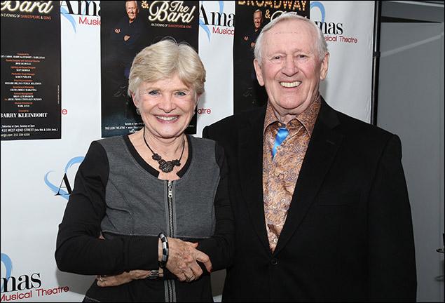 Teri Ralston and Len Cariou