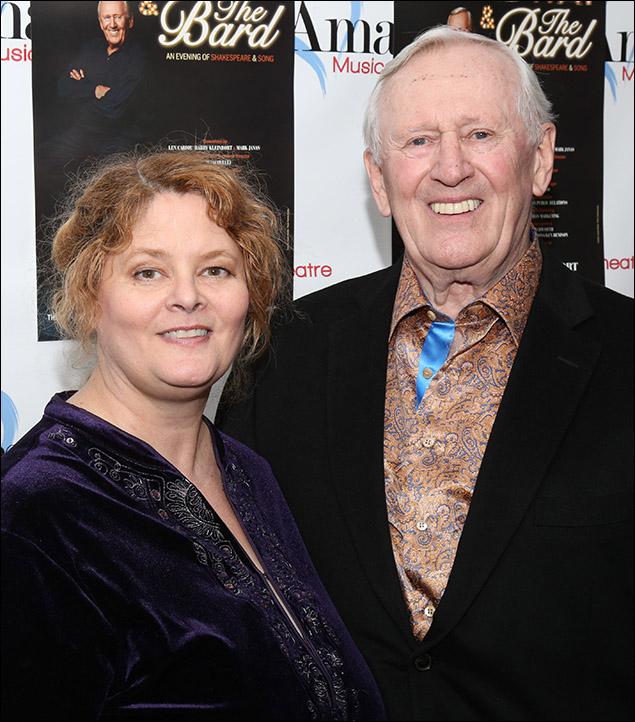 Sarah Rice and Len Cariou