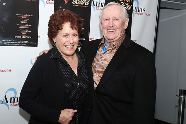 Judy Kaye and Len Cariou