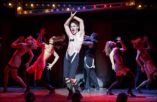 Randy Harrison and the 2016 National Touring cast of Roundabout Theatre Company's Cabaret