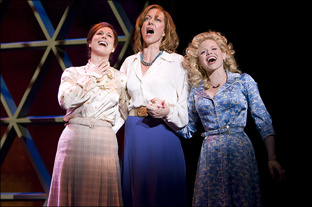 Stephanie J. Block, Allison Janney and Megan Hilty  in 9 to 5
