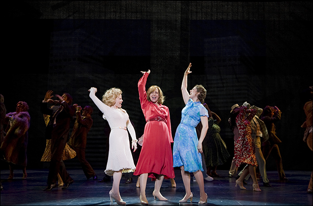 Megan Hilty, Allison Janney and Stephanie J. Block in 9 to 5
