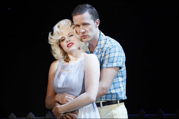 """Megan Hilty and Will Chase in """"Smash"""""""