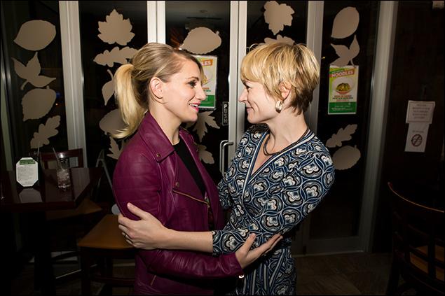 Annaleigh Ashford and Lisa Brescia