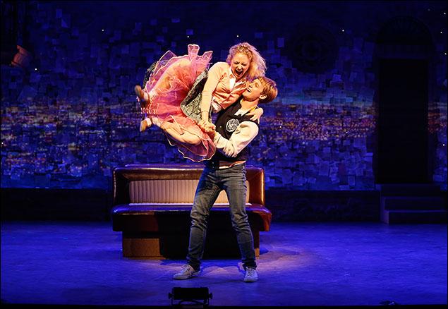 Hayley Podschun and Brendon Stimson