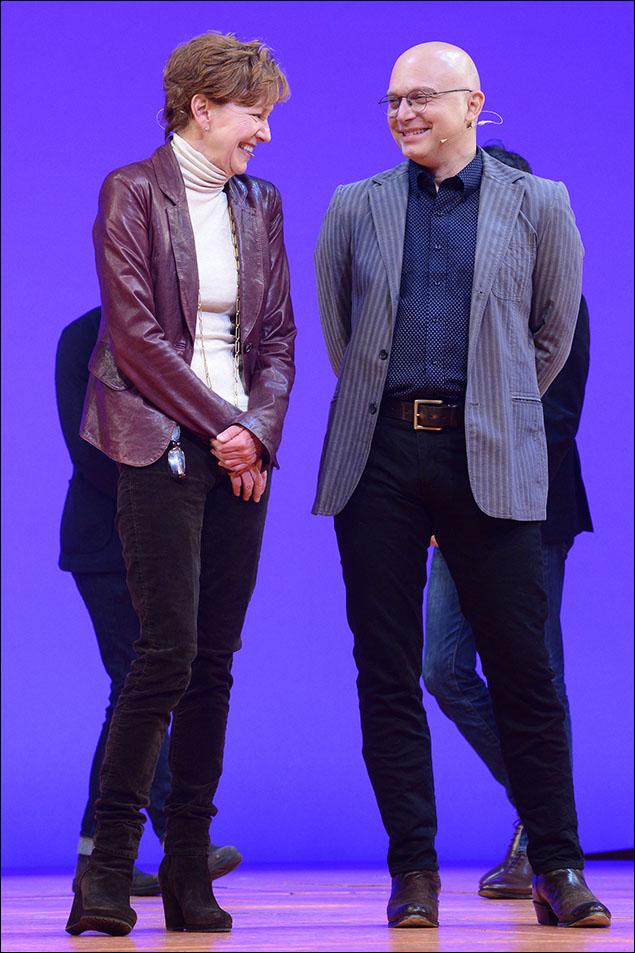 Julie White and Michael Cerveris