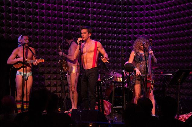 Nick Cearley, Erik Altemus and Lauren Molina