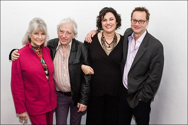 Louise Kerz Hirschfeld, Austin Pendleton, Karyn Levitt, Michael Riedel