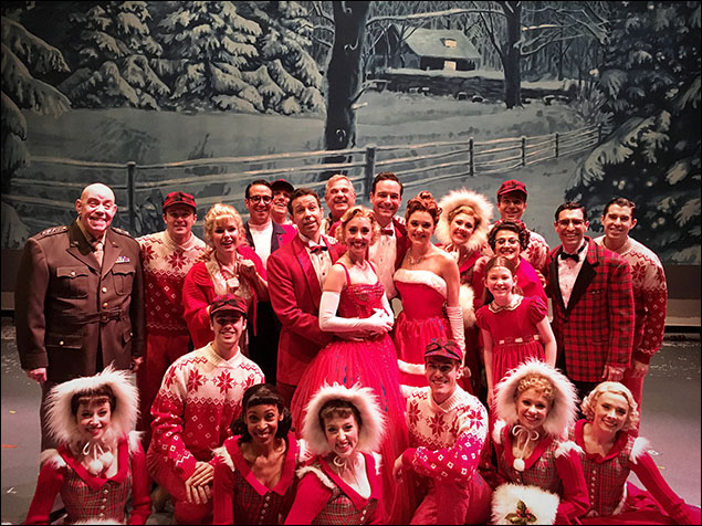 Happy Holidays from the cast of Irving Berlin's White Christmas!