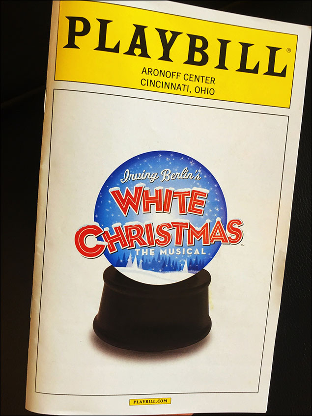 Thanks Playbill! Hope you enjoyed your trip backstage at Irving Berlin's White Christmas.