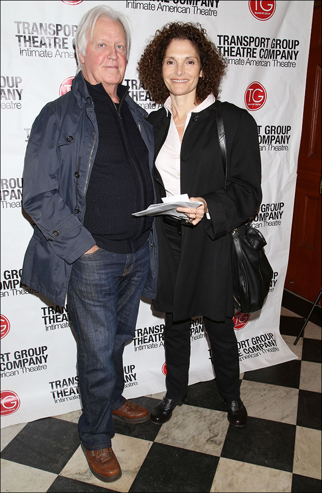Pat O'Connor and Mary Elizabeth Mastrantonio