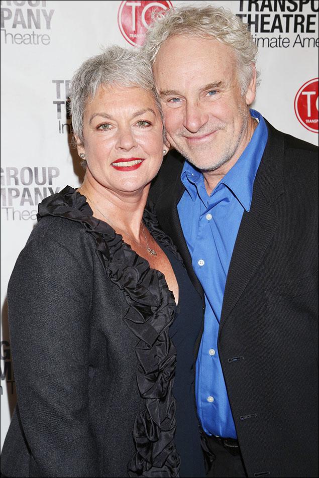 Michele Pawk and John Dossett