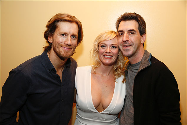 Andrew Samonsky, Elizabeth Stanley and Jason Robert Brown