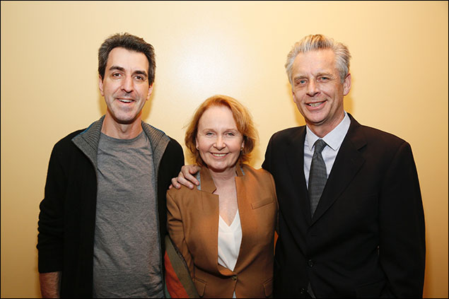 Jason Robert Brown, Kate Burton and Michael Ritchie