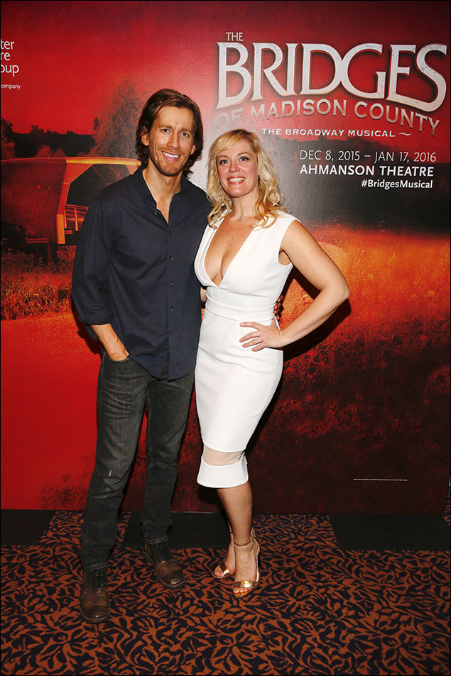 Andrew Samonsky and Elizabeth Stanley