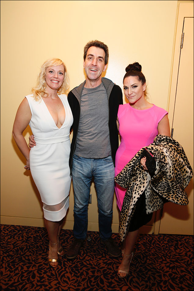 Elizabeth Stanley, Jason Robert Brown and Shoshana Bean