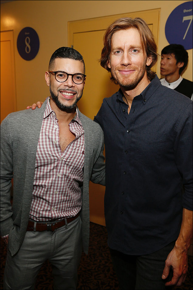 Wilson Cruz and Andrew Samonsky