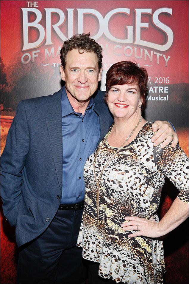 David Hess and Mary Callanan
