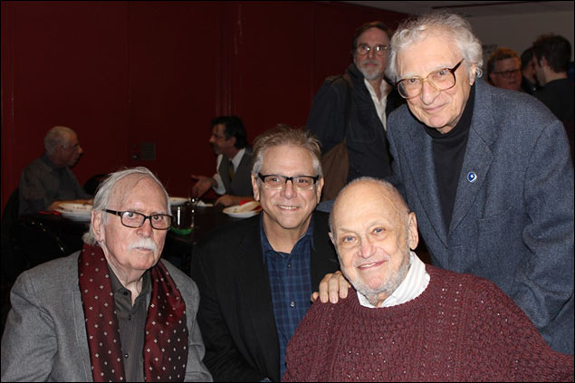 Thomas Meehan, Stuart Ross, Charles Strouse, and Sheldon Harnick