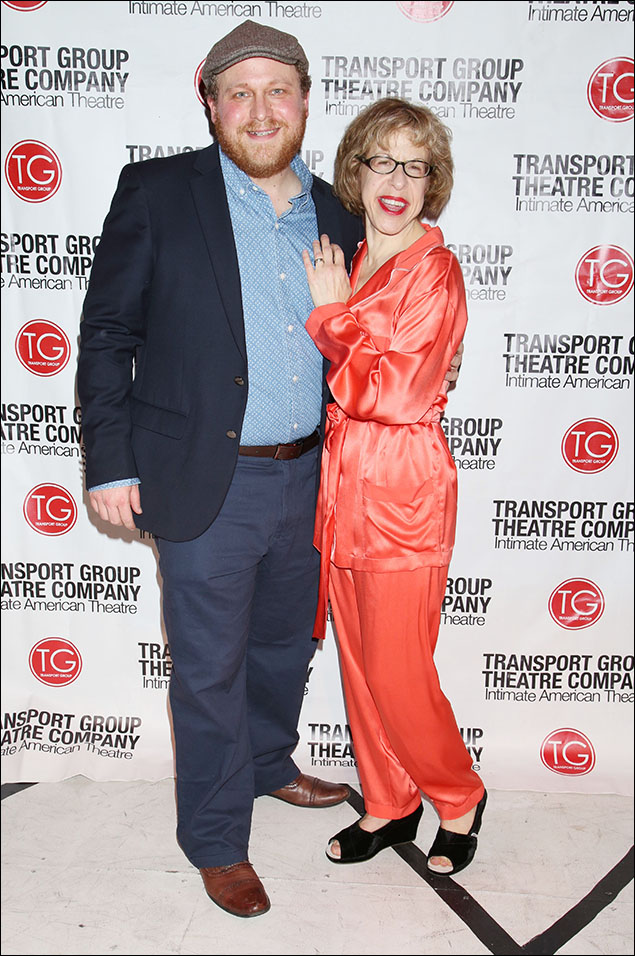 Jason SweetTooth Williams and Jackie Hoffman