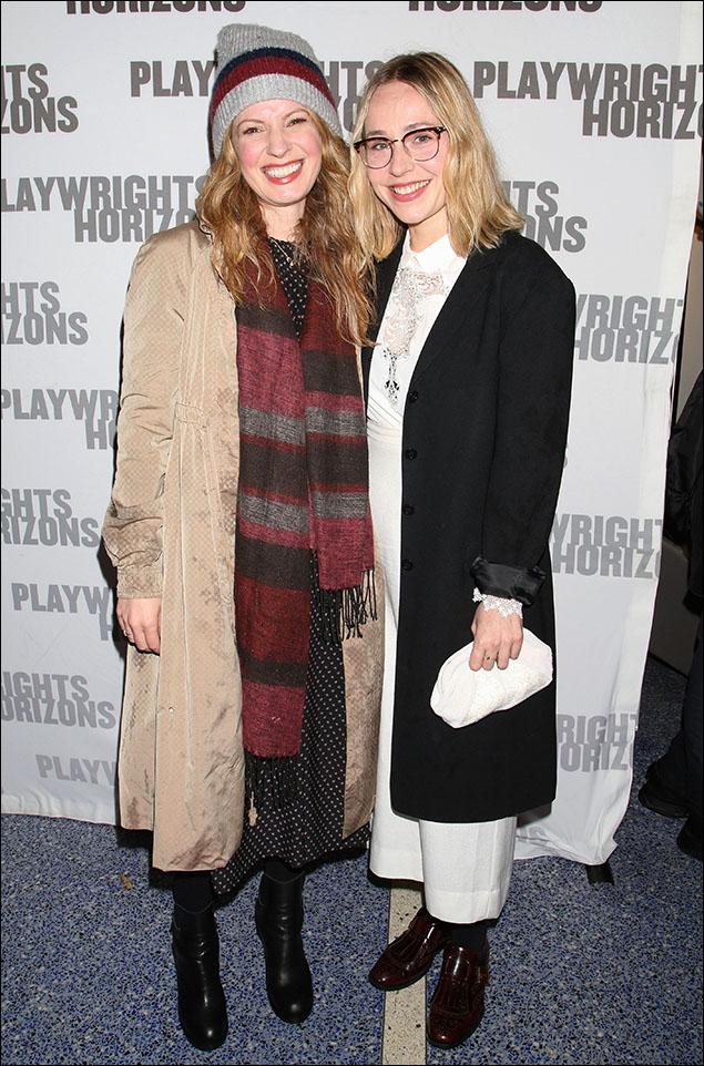 Kate Arrington and Sarah Goldberg