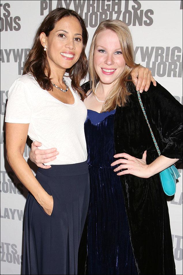 Elizabeth Rodriguez and Emma Myles