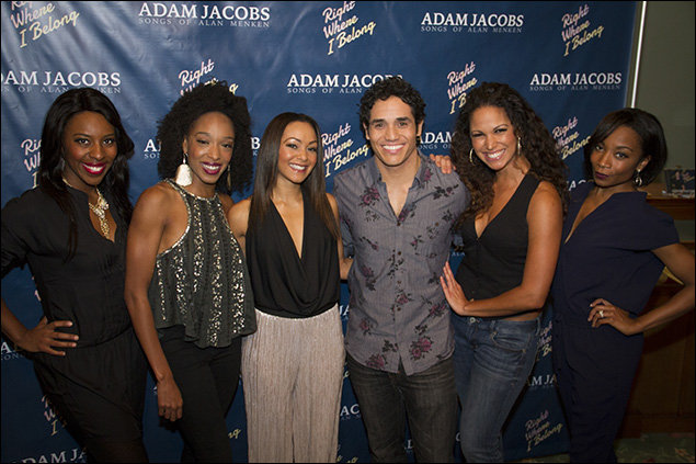 Adam Jacobs and the Aladdin company