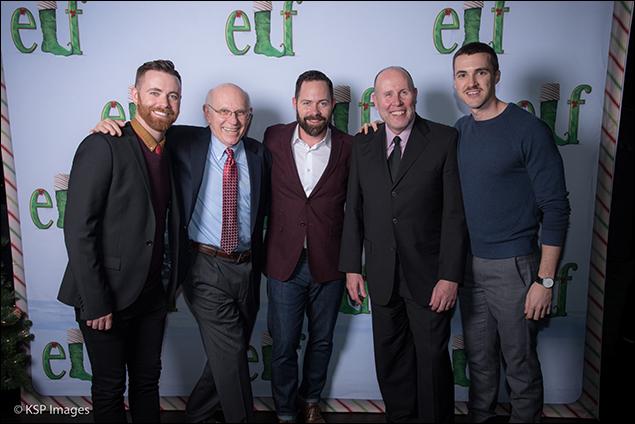 Connor Gallagher, Kary Walker, Duncan Stewart, Sam Scalamoni and Benton Whitley