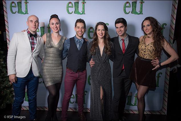 Paul Ianniello, Emily Larger, Darren Biggart, Elizabeth Burton and Drew Franklin Dani Spieler