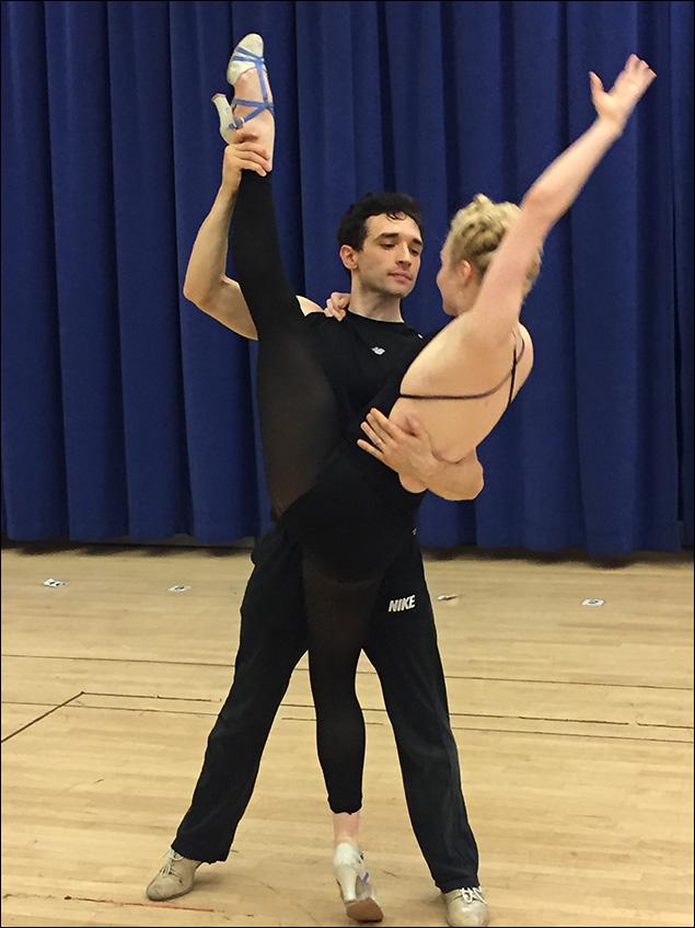 Rick Faugno and Paloma Garcia Lee