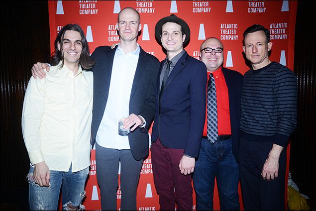 Lucas Papaelias, Adam O'Byrne, Bryan Fenkart, Tony Manna and Brad Heberlee