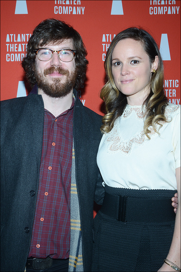 John Gallagher, Jr. and Libby Winters