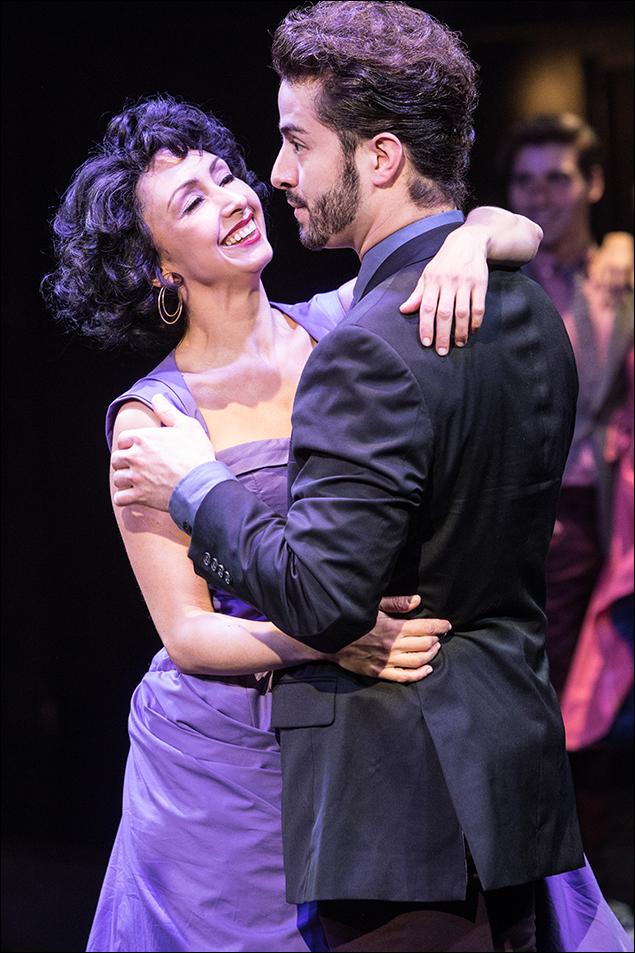 Natascia Diaz and Sean Ewing