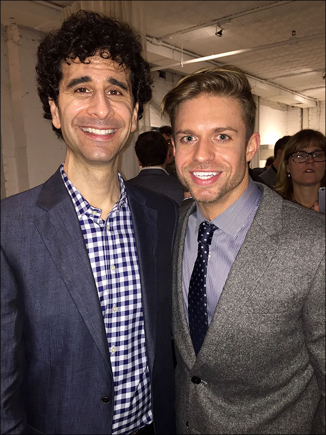 One of the greatest actors - John Cariani from Something Rotten!