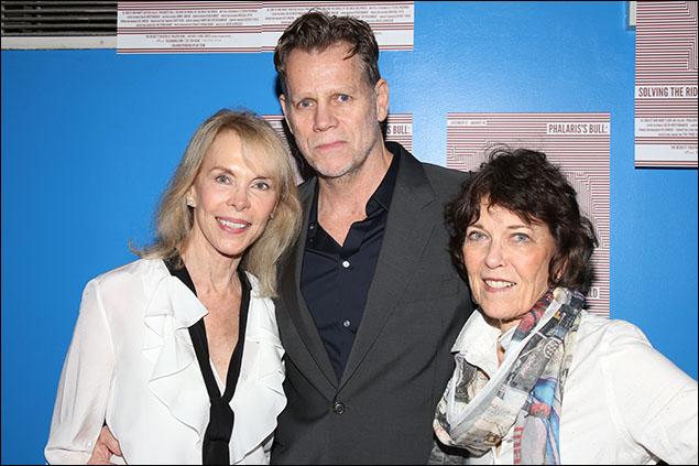 Elaine Joyce, Al Corley and Marty Kaplan