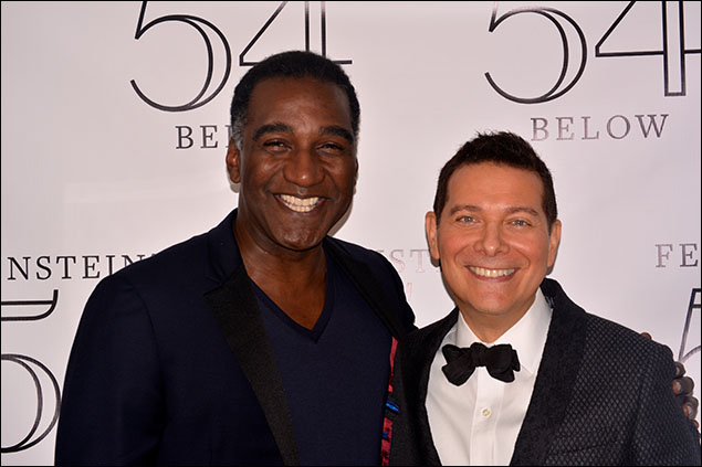 Norm Lewis and Michael Feinstein