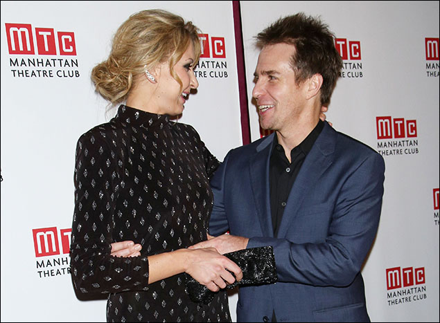 Nina Arianda and Sam Rockwell