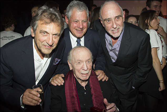 Alain Boublil, Cameron Mackintosh, Claude-Michel Schönberg and Herbert Kretzmer
