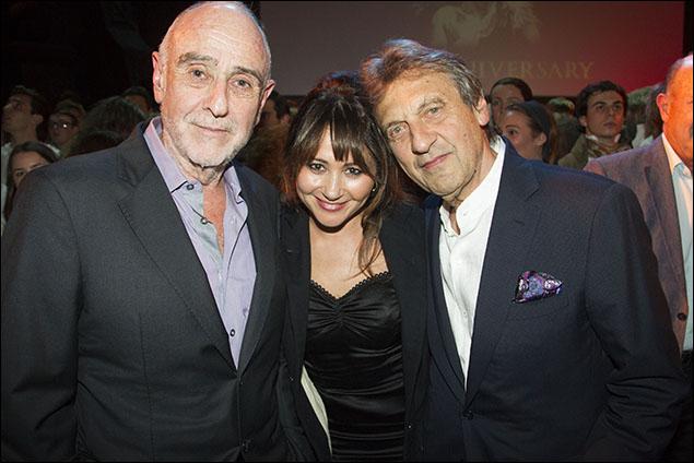 Claude-Michel Schönberg, Frances Ruffelle and Alain Boublil