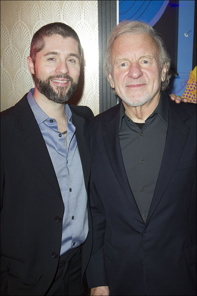 Peter Lockyer and Colm Wilkinson