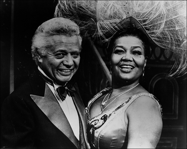 Billy Daniels and Pearl Bailey on Broadway