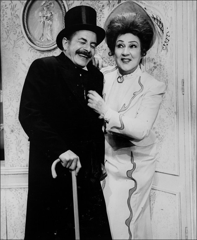 Jack Goode and Ethel Merman on Broadway