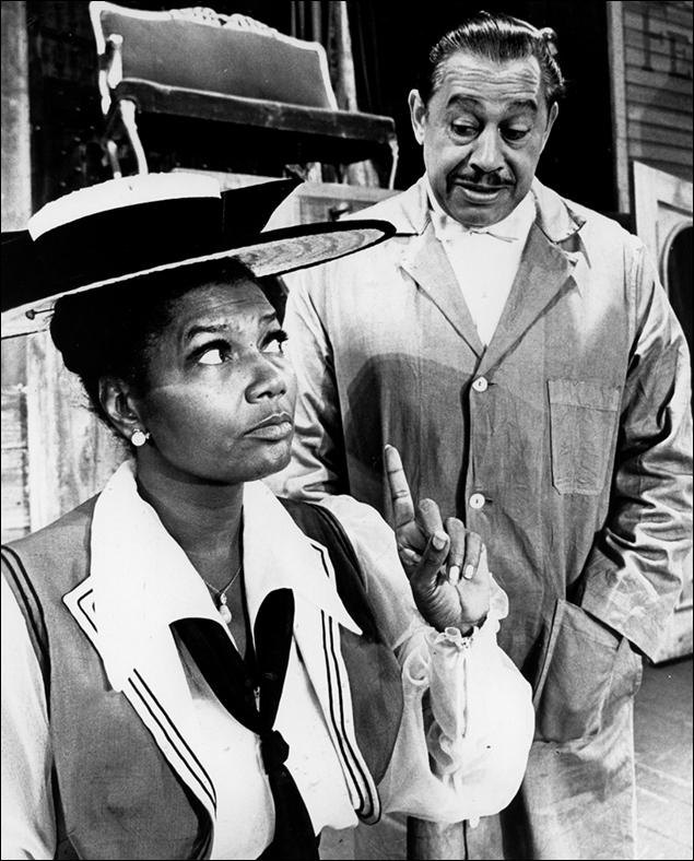 Pearl Bailey and Cab Calloway on Broadway
