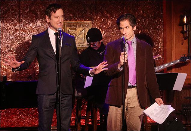 Jack Plotnick and Seth Rudetsky