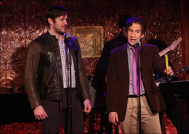 Casey Garvin and Seth Rudetsky