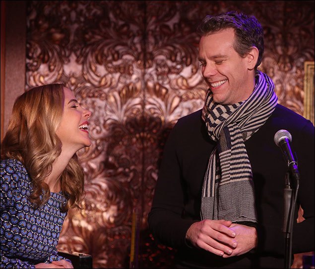 Kerry Butler and Adam Pascal