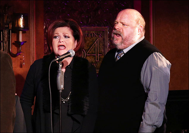 Faith Prince and Kevin Chamberlin