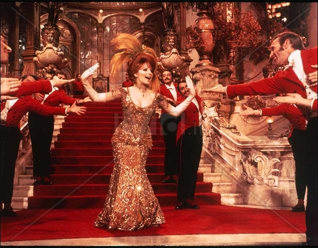 Barbra Streisand in the film adaptation