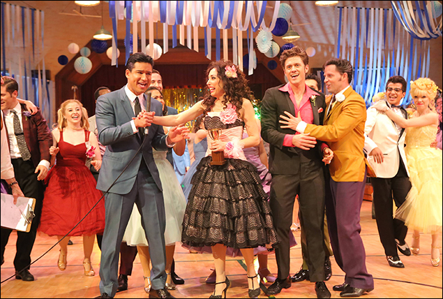 Mario Lopez, Yvette Gonzalez-Nacer, Aaron Tveit, Andrew Call, Jordan Fisher and Carly Rae Jepsen
