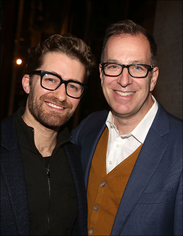 Matthew Morrison and Ted Sperling